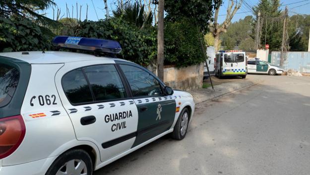 Imatge de l'operatiu a Valldoreix / Foto: Lluís Llebot (Cugat.cat)