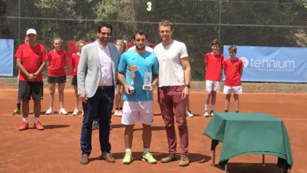 Oriol Roca és el vigent campió del torneig ITF de Valldoreix / Font: Cugat.cat