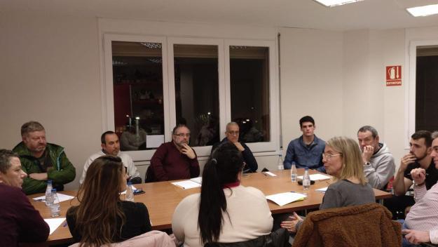 Mireia Ingla s'ha reunit amb la Coordiandora d'Entitats Esportives / Font: Coordinadora