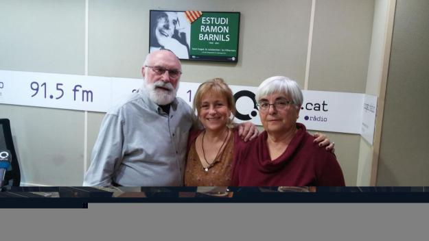 Eduard Jener, Rosa Sicart i Pepa Gómez
