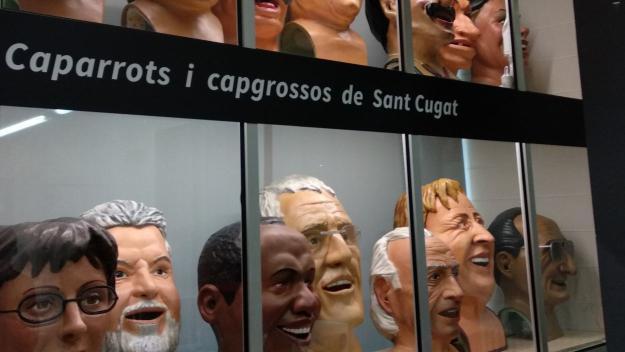 El nou espai és una vitrina a la Casa de Cultura / Foto: Cugat.cat