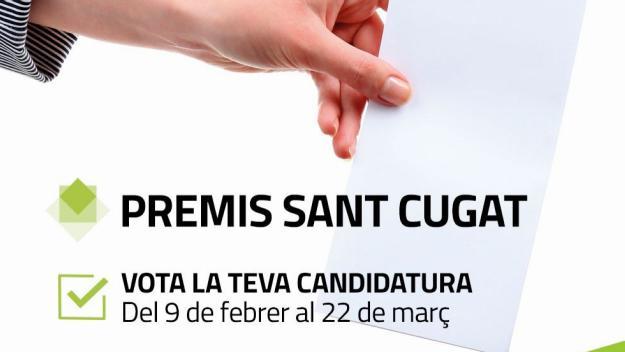Última setmana per votar als Premis Sant Cugat 2018
