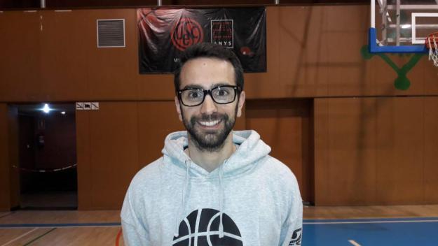 Marc Solanes, nou entrenador de la UESC masculina de bàsquet