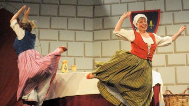 Teatre solidari amb 'Tirant lo Tirant'