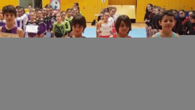 El Club Artística Sant Cugat  triomfa a la primera fase del Campionat de Catalunya
