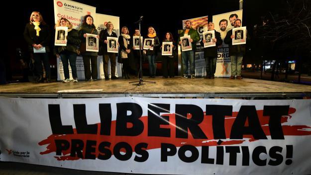L'independentisme de Sant Cugat fa una crida a 'aturar-ho tot' en suport als presos