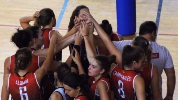 El júnior del DSV-Club Voleibol Sant Cugat / Font: Lucho Martín