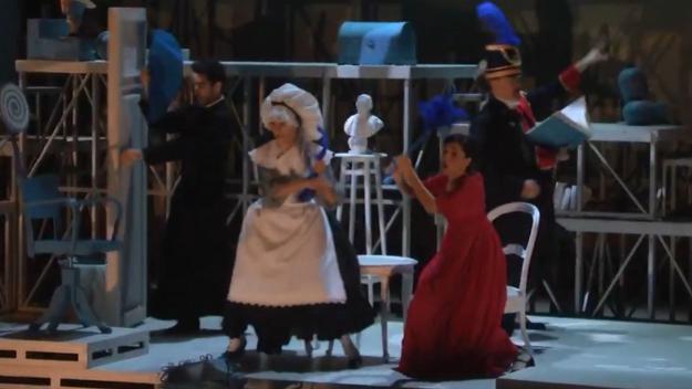 L'adaptació per a tota la família d''El barber de Sevilla' arriba avui al Teatre-Auditori