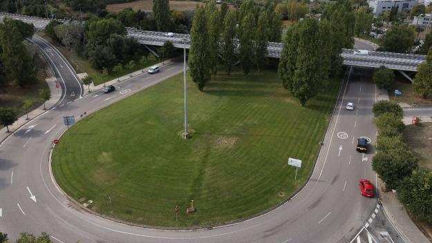 Imatge de la zona que es tallarà / Foto: Ajuntament
