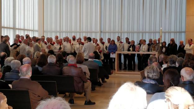 Sant Cugat acomiada Pasqual d'Ossó amb la música de la Coral la Lira