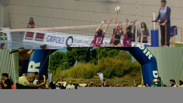 Imatge del partit entre els dos conjunts / Foto: Cugat.cat