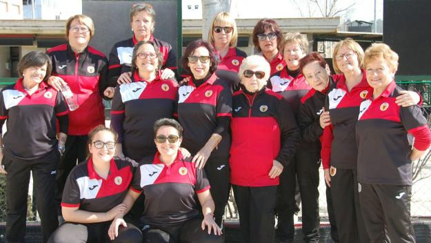 L'equip femení del Club Petanca Sant Cugat remunta i ascendeix a Tercera Catalana