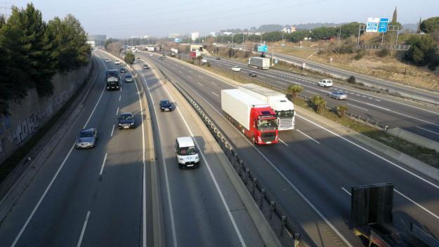 El trànsit a l'AP-7 torna a fluir amb normalitat / Foto: Cugat Mèdia