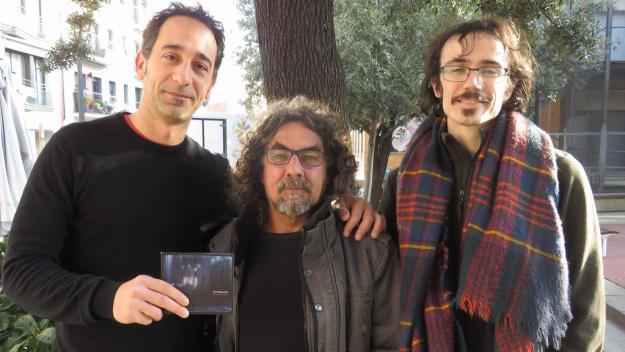 Claes Magnet Trio porta el jazz contemporani als estudis de Cugat.cat