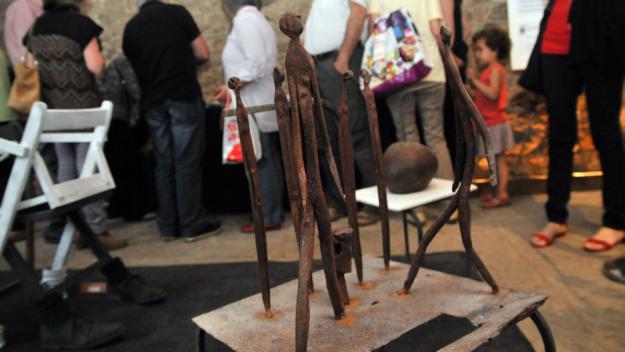 Els artistes de l'associació Firart mostraran el seu treball / Foto: Cugat.cat