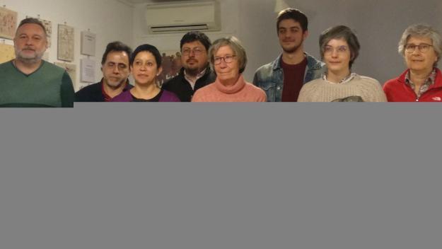 Membres de la candidatura de Sant Cugat en Comú / Foto: Cugat.cat