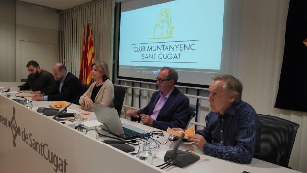 Imatge de la presentació de les activitats del 75è aniversari del Club Muntanyenc / Foto: Cugat.cat