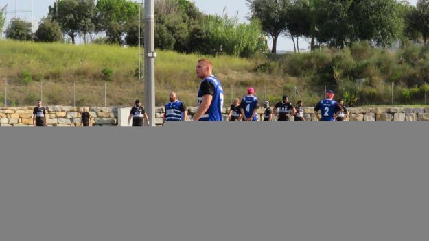 Dani Barranco, convocat amb la selecció espanyola de rugbi absoluta