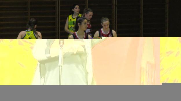 La UESC femenina cau a la pista del Sant Nicolau / Font: Cugat.cat