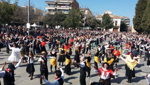 El ball de Gitanes haurà de modificar-se perquè hi càpiga tothom / Foto: Cugat Mèdia