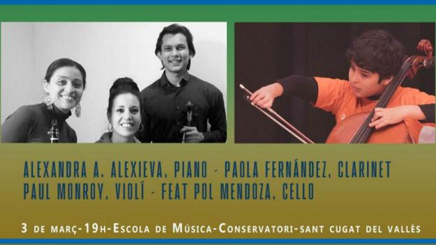 Concert: Cambra Trio