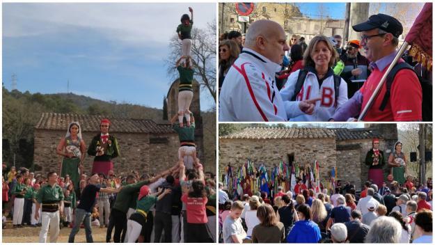 L'Aplec de Sant Medir reivindica un any més el respecte i la preservació de l'entorn natural