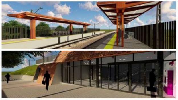 Adjudicada la nova estació de Santa Perpètua de la R8, que dóna servei a Sant Cugat