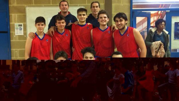 El bàsquet internacional, protagonista a l'Escola Europa / Font: Europa
