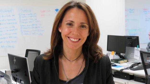 La directora de Cugat Mèdia, Mònica Lablanca / Foto: Cugat Mèdia