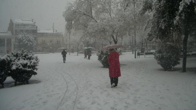 2010: Una nevada col·lapsa Sant Cugat