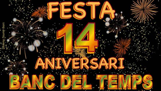 Festa: 14è aniversari del Banc del Temps