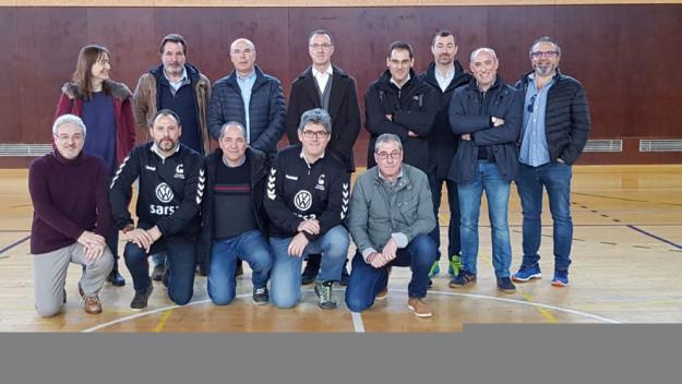 La nova junta directiva de l'Handbol Sant Cugat / Font: Handbol Sant Cugat