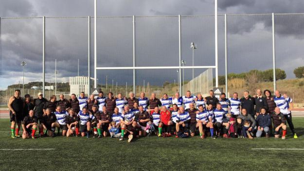 Imatge dels equips que han participat a l'estudi / Font: Rugby Sant Cugat