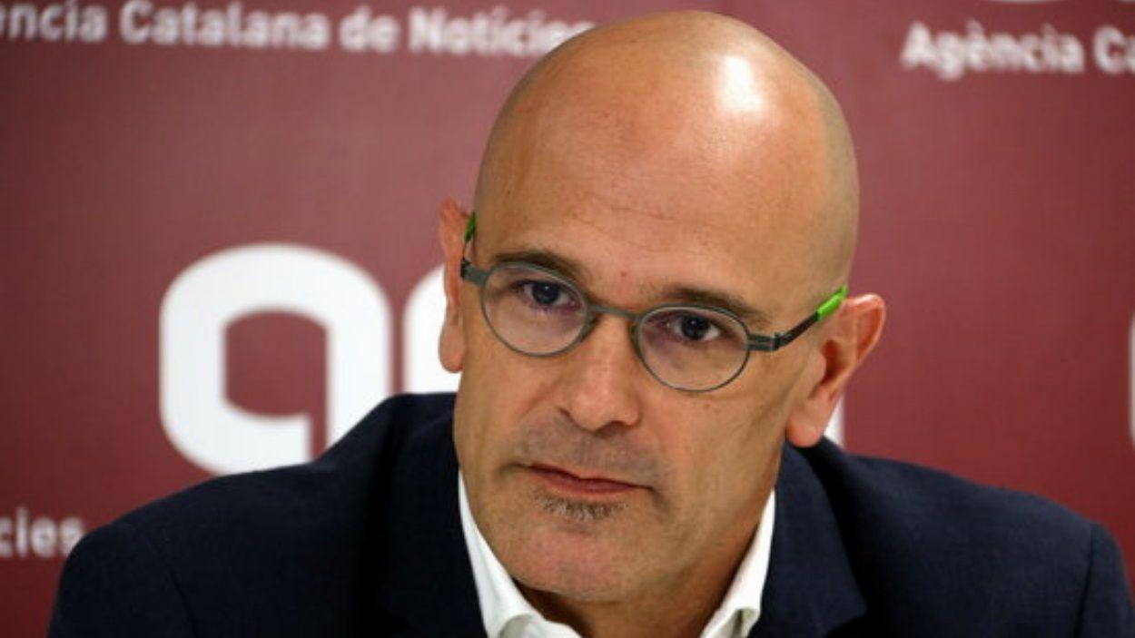 Raül Romeva serà el candidat d'ERC al Senat el 28-A
