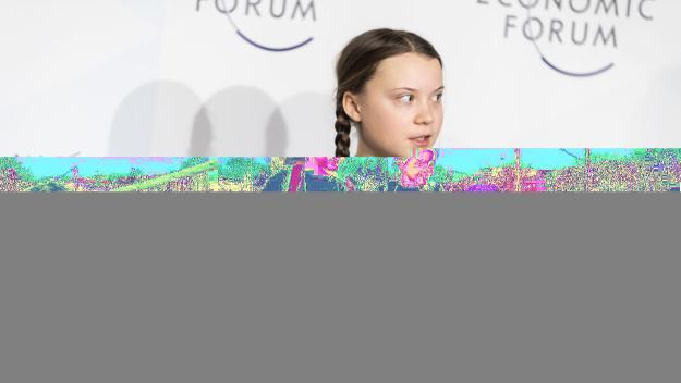 La sueca Greta Thunberg és l'impulsora de la iniciativa a àmbit mundial / Foto: Forum Econòmic Mundial