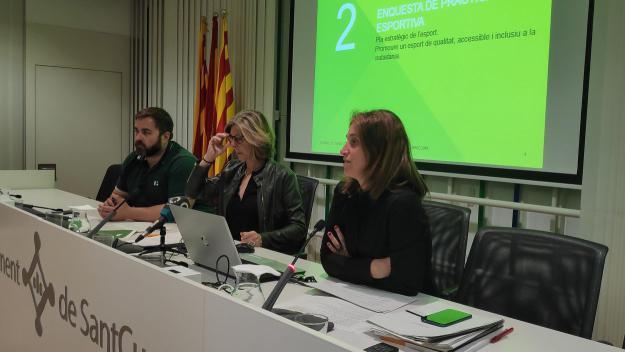 La relació entre l'Ajuntament i SantCugatCreix centra el Consell Sectorial d'Esports