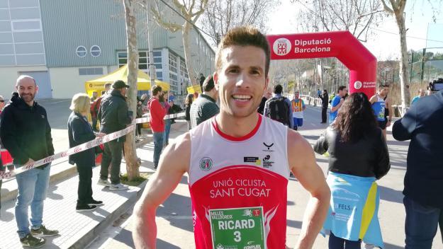 Ricard Pérez i Ana Belén Garcia guanyen les 5 Milles de Valldoreix