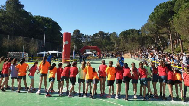L'escola Avenç suma esport i solidaritat amb el Repte Quilòmetres de Sang