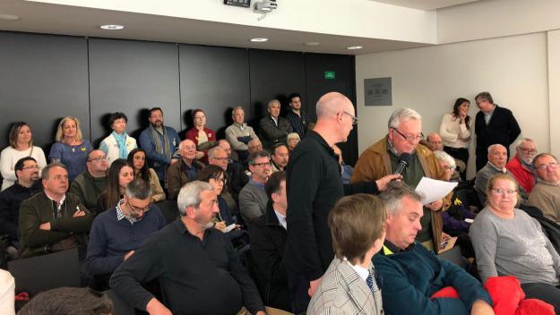 Un moment del torn d'audiència pública / Foto: Cugat.cat