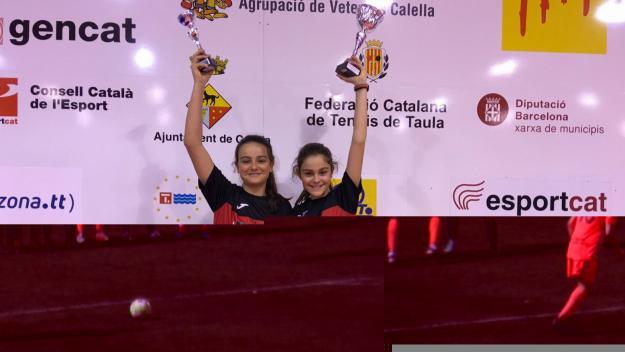 Mariona Munné guanya el Torneig Internacional de tennis taula a Calella