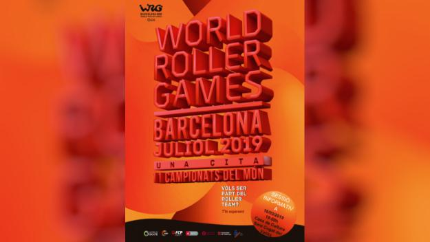 Sessió informativa: World Roller Games