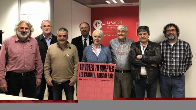 Imatge dels candidats santcugatencs / Foto: Cugat.cat
