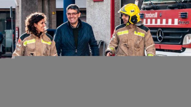 Sant Cugat se suma a la campanya 'Els Bombers t'acompanyen a donar sang'