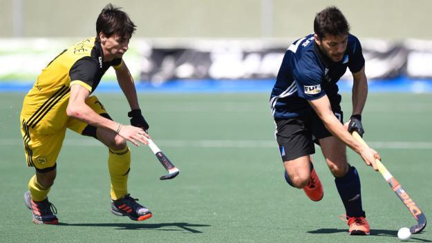 Imatge del partit de quarts de final entre el Junior i l'Atlètic Terrassa / Foto: RFEH