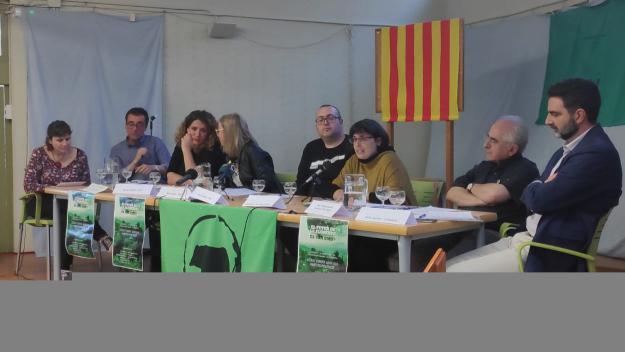 La ponència ha tingut lloc al Centre Social i Sanitari / Foto: Cugat.cat