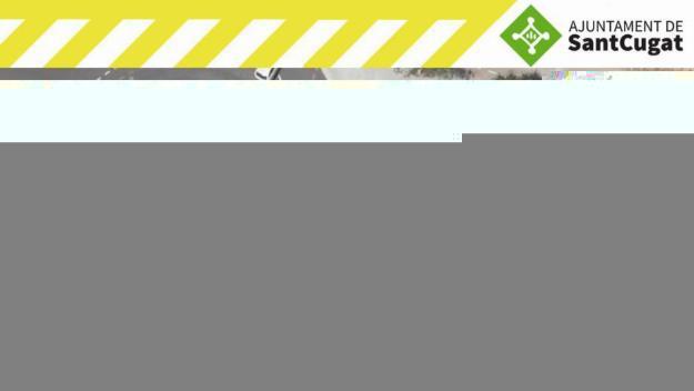Tallat un carril de l'avinguda de la Clota per obres fins al 5 d'abril