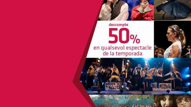 El Teatre-Auditori celebra el Dia Mundial del Teatre  amb les entrades a meitat de preu