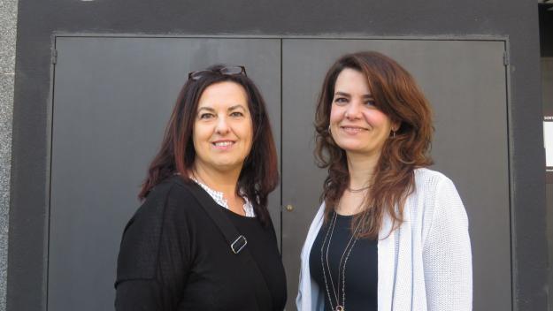 Lluïsa Espín i Marta Fàbregas / Foto: Cugat.cat