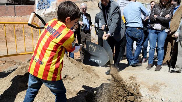 La primera pedra es va col·locar l'any 2015/ Foto: Localpres