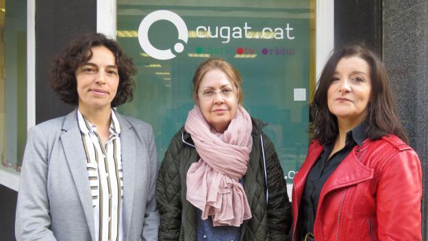 Olga Arnedo, Núria Piñol i Gemma Navarra / Foto: Cugat.cat
